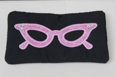 Marilyn Glitz Eye Glass Case