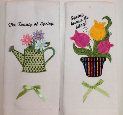 Spring Hand Towels