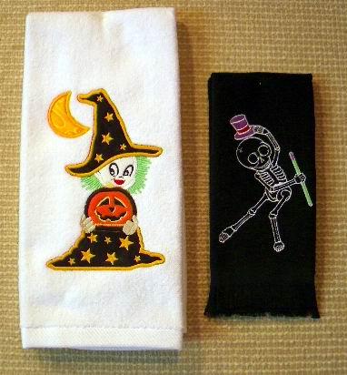 Halloween Towels