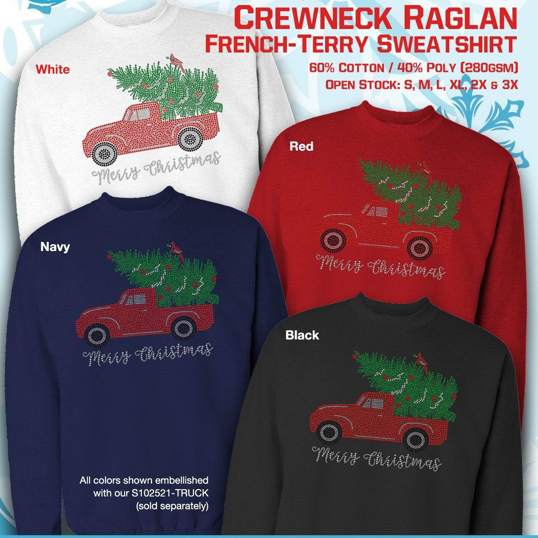Christmas Truck Sweatshirt